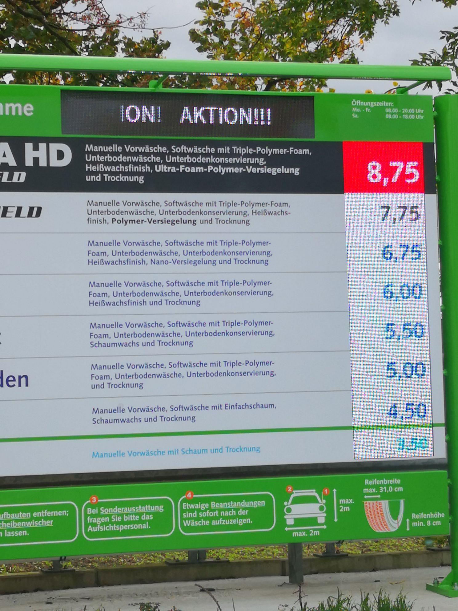 IMO Waschstraße 50% Cranger Str. 160, 45891 Gelsenkirchen