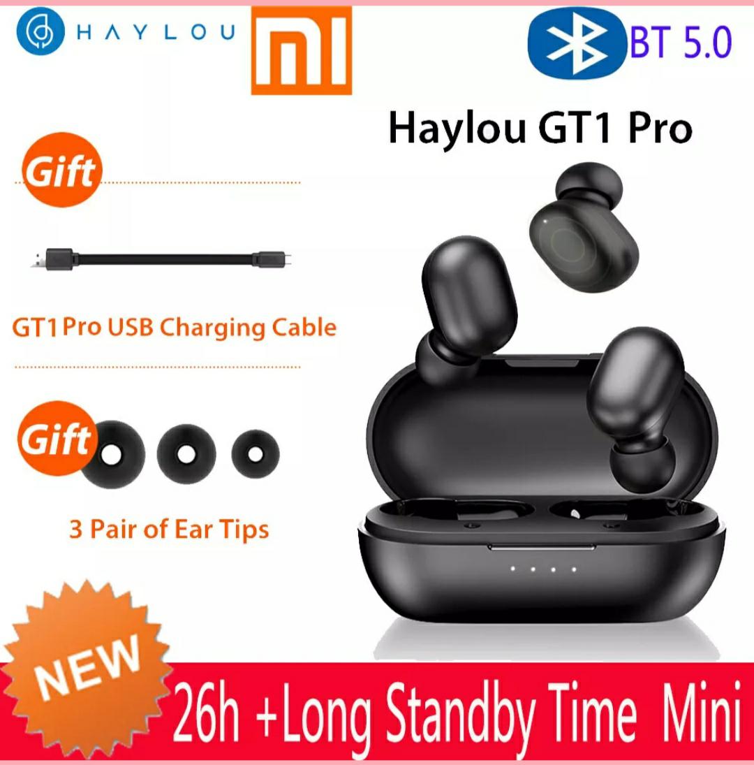Haylou GT1 Pro TWS Wireless Earphones BT 5.0  AAC DSP [Versand aus D]