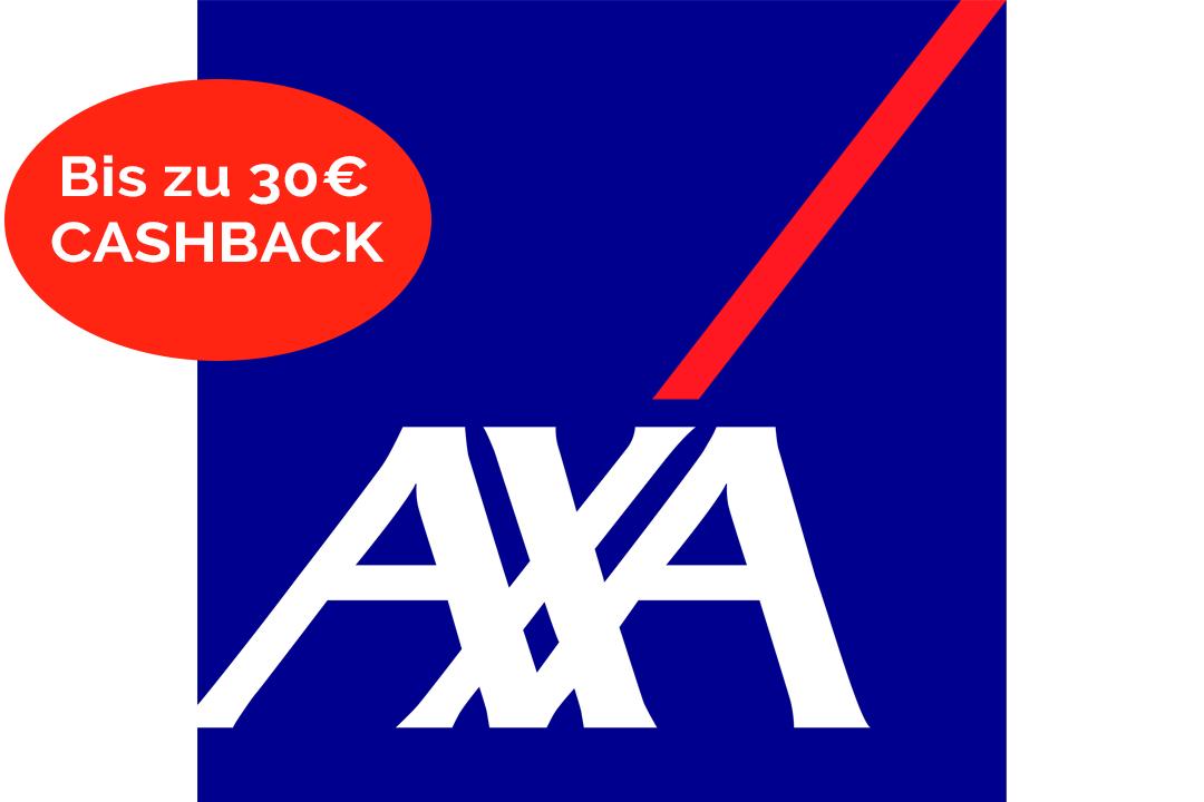 Bis zu 30€ Cashback für neue AXA Versicherung! Gilt für Zahnzusatz, KFZ, und Privathaftpflicht