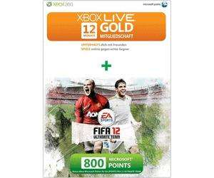 Saturn Dortmund Eving: Xbox live Gold 12 Monate incl. 800 Points 45€ / NHL 12 Xbox360 5€