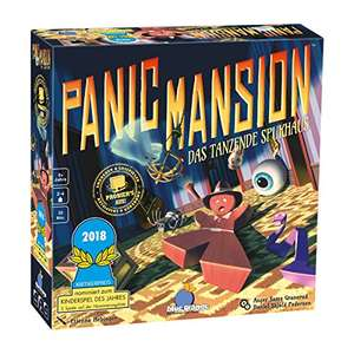 [Amazon Prime/Smyths] Panic Mansion - Das tanzende Spukhaus - Brettspiel
