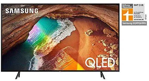 Samsung Q60R 123 cm (49 Zoll) 4K QLED Fernseher (Q HDR, Ultra HD, HDR, Twin Tuner, Smart TV) für 599€ & 65 Zoll Variante für 689€ [Amazon]