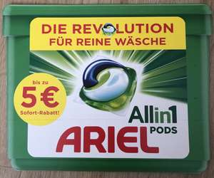 3€ & 2€ Sofortrabatt auf Ariel All-in-1-PODS