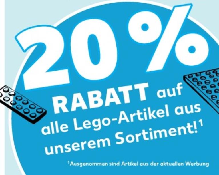 20% auf Lego bei Kaufland
