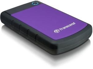 "Transcend StoreJet 25H3P USB 3.0 1TB externe stoßgeschützte 2,5"" Festplatte"