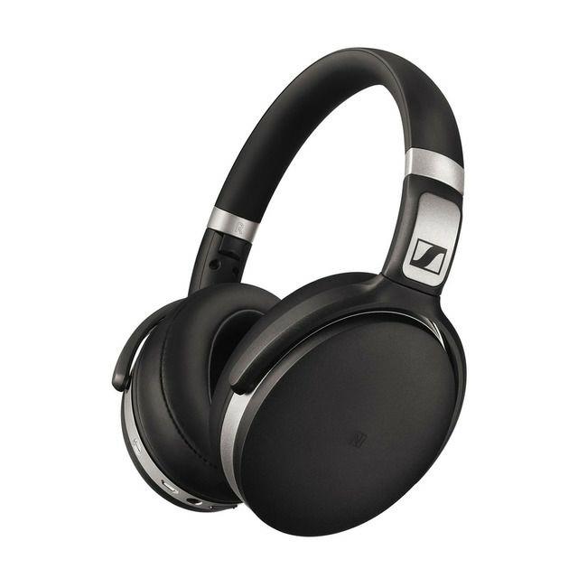 Sennheiser HD 4.50 BTNC Noise-Cancelling Wireless Headphones, Hi-fi Over-Ear Kopfhörer, NFC, Headsetfunktion, Bluetooth, schwarz-silber