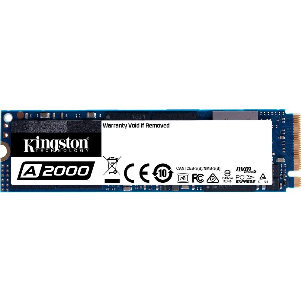 Kingston A2000 500GB (NVMe, PCIe, M.2 SSD, 3D-NAND TLC, R: 2200MB/s, W: 2000MB/s) - Rakuten Mastercard