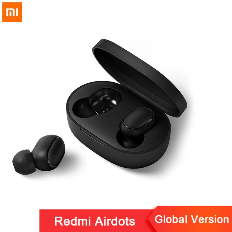 Xiaomi Redmi AirDots Wireless Kopfhörer (BT 5.0, TWS, True Wireless Stereo) [AliExpress]
