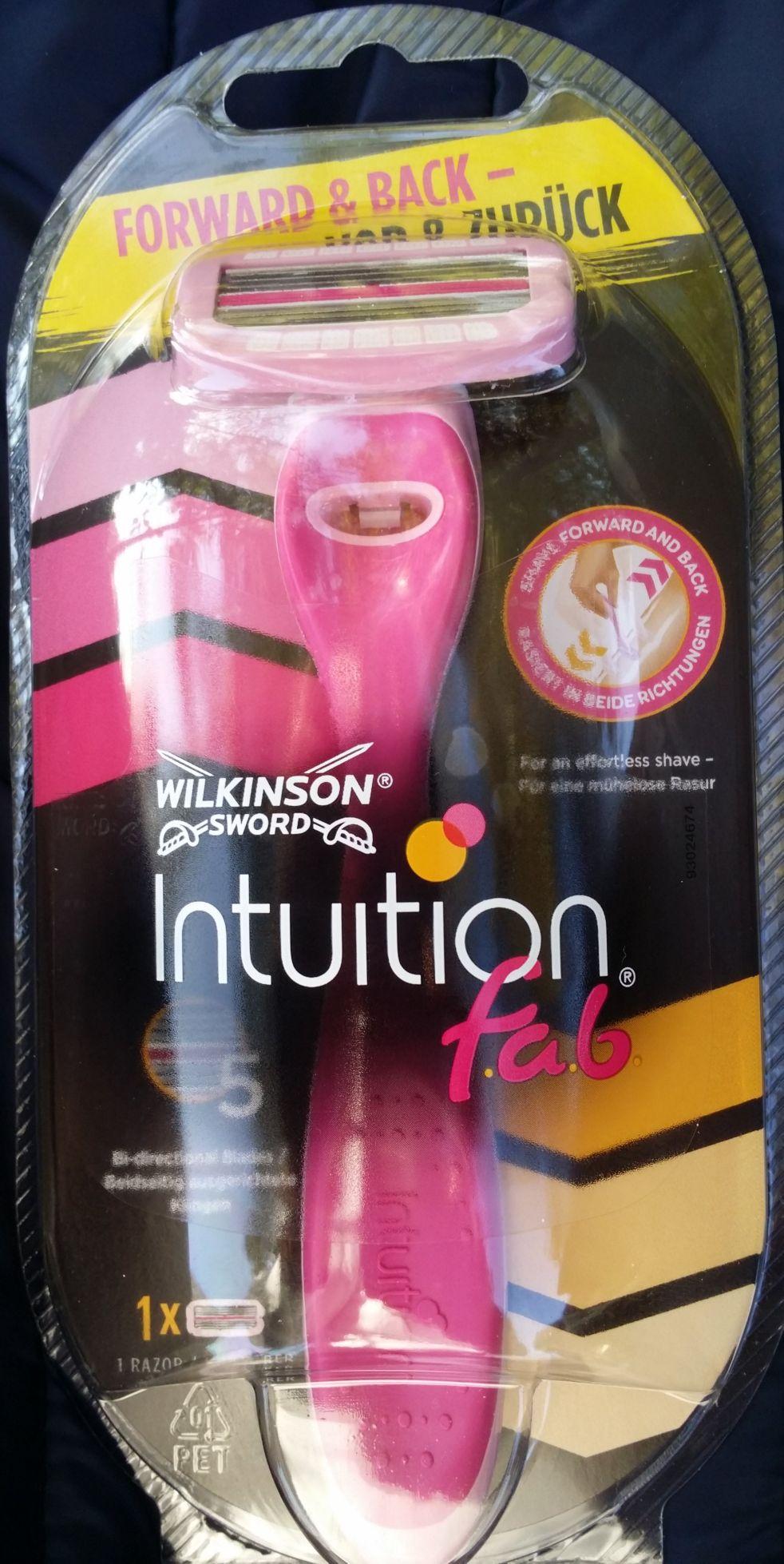 Wilkinson Intuition f.a.b. endlos Freebie durch Kassenfehler/ Couponfehler im Kassensystem