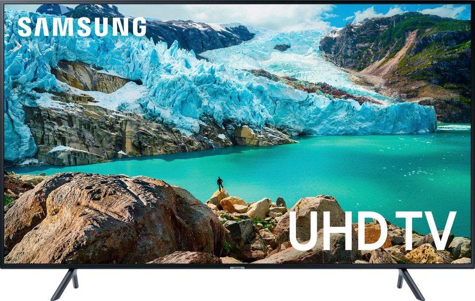 Samsung UE75RU7099 - 75 Zoll 4K UHD SMART TV (VA, Edge LED, 8bit+FRC, 60Hz, Tizen, ~11ms Input Lag) für 999€ + 5% Shoop / 969,03€ via eBay