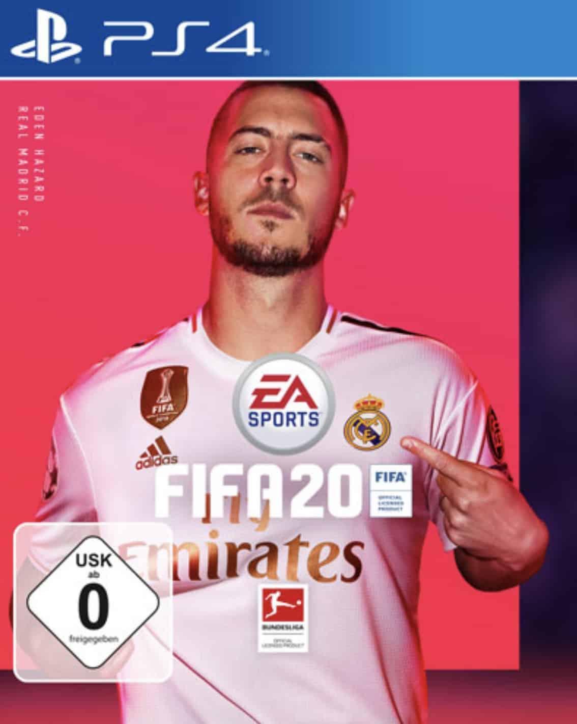 FIFA 20 - PlayStation 4 für 45,98€ inkl. Versand