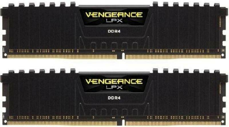 Corsair Vengeance LPX 16GB (2x8GB) DDR4-RAM 3200MHz CL16 XMP 2.0 High Performance Arbeitsspeicher Kit, schwarz