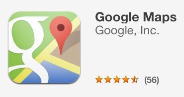 iOS Google Maps ist wieder da!!
