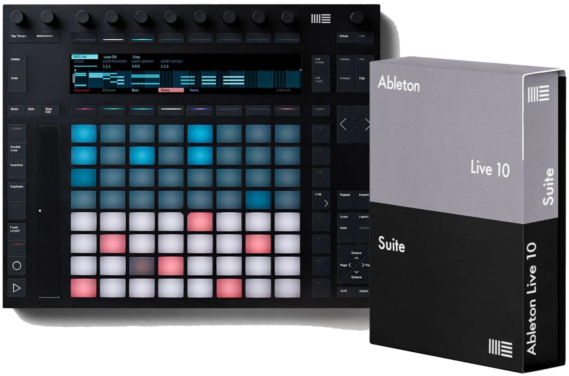 Ableton Push 2 DAW-Controller + Live 10 Suite (Einzelwert: 579€)