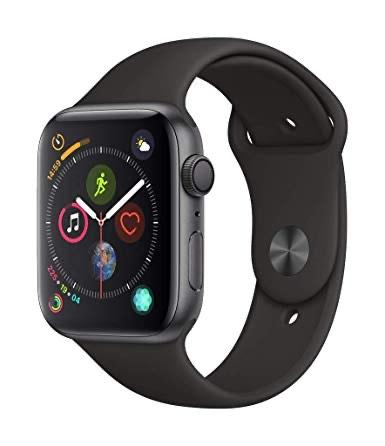 Apple Watch 4 in 44mm SpaceGrau Sport @ buyzoxs