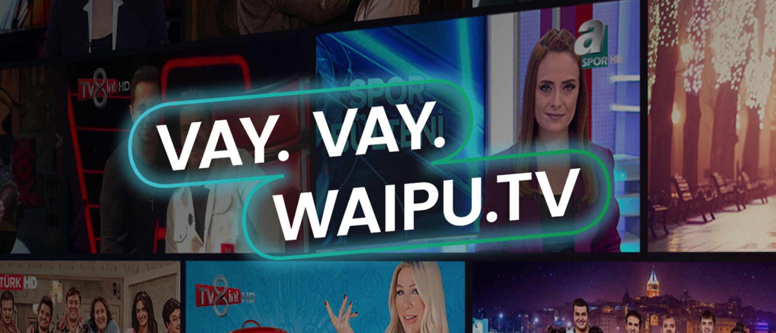 Waipu.tv - Türkei Paket mit 30 türkischen Sendern für 1 Monat kostenlos