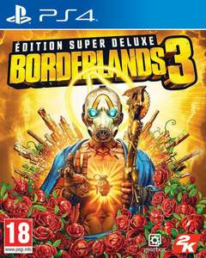 Borderlands 3 Super Deluxe Edition inkl. Steelbook, Season Pass und Deluxe-Bonusinhalte (PS4) für 58.70€ (Amazon.fr)