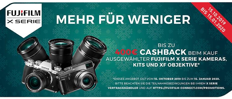 Fujifilm Fujinon Cashback bis zu 400€ bzw. bis zu 800€ Sofortrabatt - z.B. MKX 18-55mm T2.9 Cine Objektiv - Sammeldeal