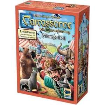 Carcassonne Erweiterungen (neue Edition) - alle außer 1. und 7. für 4,99€ - Grundspiel 9,99€ (Filiallieferung ansonsten +4,95€)