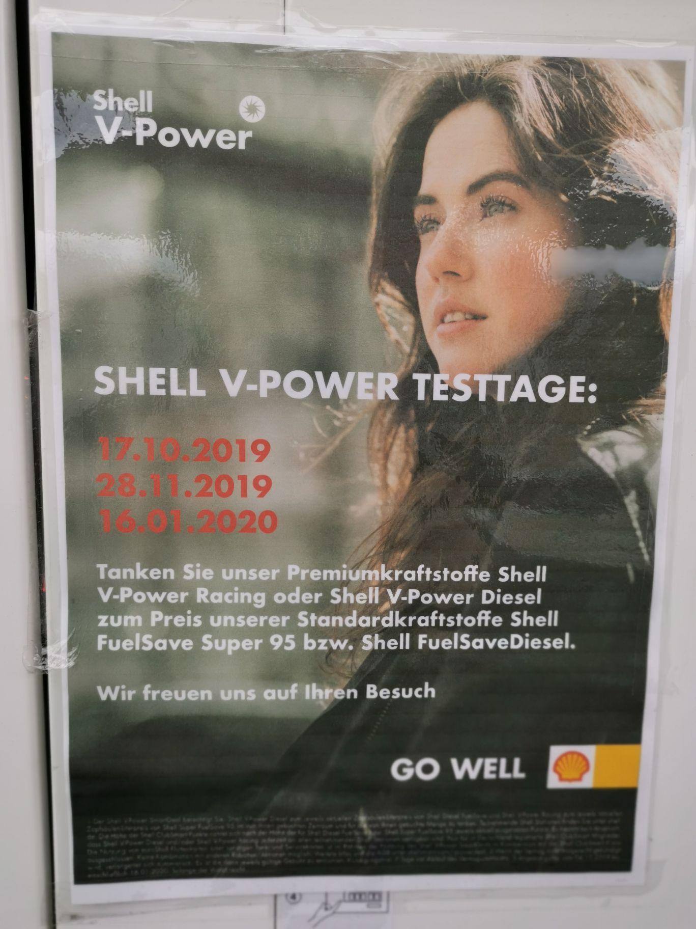 [Lokal Bundesweit?] Shell V-Power Testtage