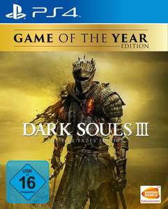 Dark Souls III: The Fire Fades Edition Game of the Year Edition (PS4) für 29,99€ (Amazon & GameStop)
