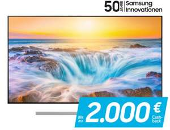 "Samsung 55"" Q85R 4k/UHD LCD Fernseher   effektiv 1199€ nach -150€ Cashbackauszahlung"