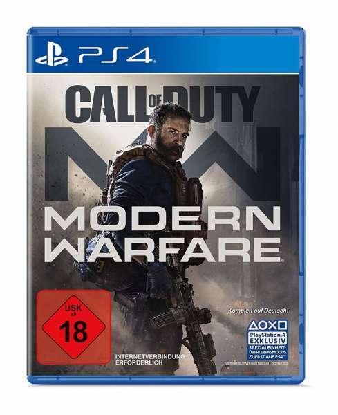Call of Duty Modern Warfare PS4 jetzt für 39,99€ inkl. Versand - mit Mastercard + 10€ Gutschein f.d. nächsten Einkauf (ab 30€) über Shoop