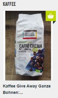 Kaffeebohnen von FairTrade inkl. Versand kostenlos