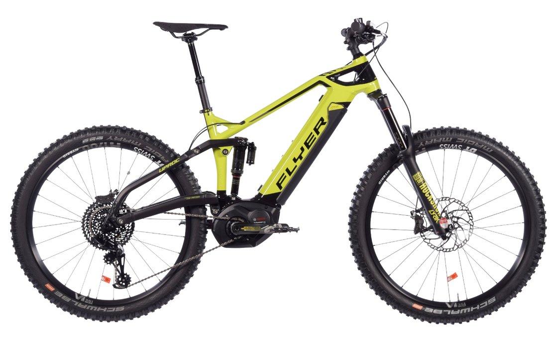MTB E-Bike Flyer Uproc6 8.70 27,5 Plus (EX1/ZEE/Bosch) - 2019 (S,M)