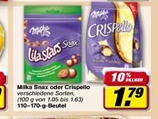 [toom] Milka Crispello für 0,79€ mit Rabattcoupon