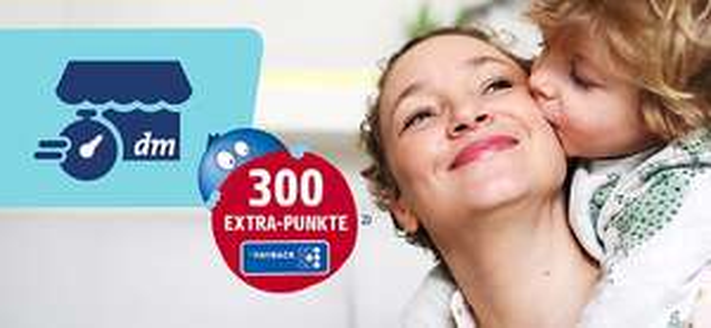 [München] dm Drogerie Marktabholung Express - 300 Payback-Punkte