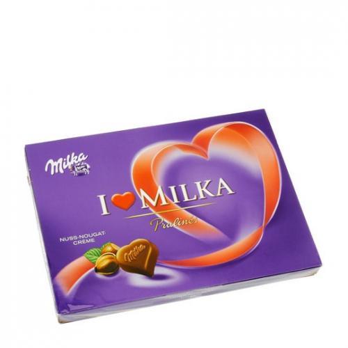Im lidl 125-g-Packung Milka Pralinés für nur 99 Cent