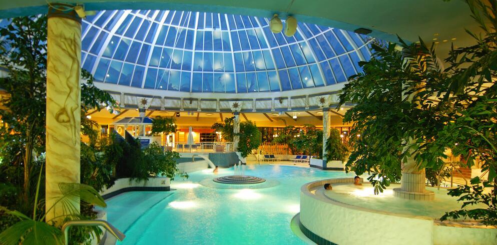 Vital Hotel Frankfurt mit Rhein-Main-Therme für 118€ bei einer Reise zu zweit