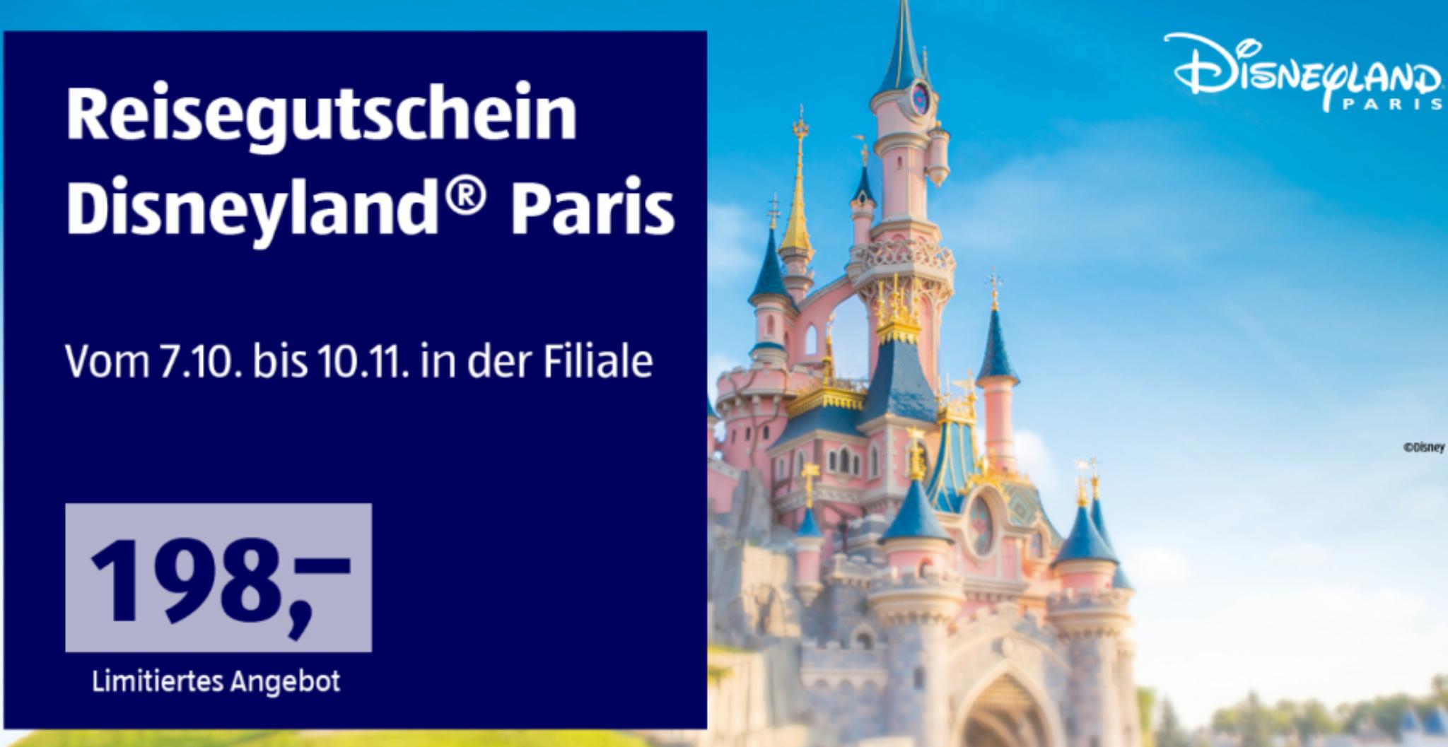 Aldi Reise Disneyland Paris [NUR FILIALE]!
