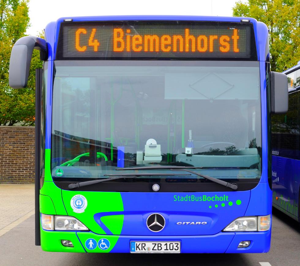 [lokal Bocholt] Ein Jahr lang kostenlose StadtBus-Fahrten an Samstagen