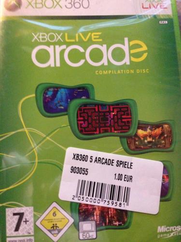 [lokal Frankfurt] [Conrad] Xbox Live Arcade Compilation Disc (5 Arcade Games)
