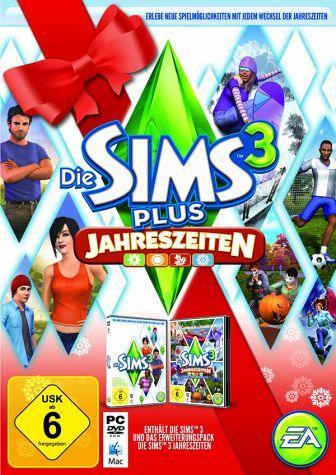 Die Sims 3 - Holiday Edition inkl. Sims 3 Jahreszeiten für 46,99€ @buecher.de