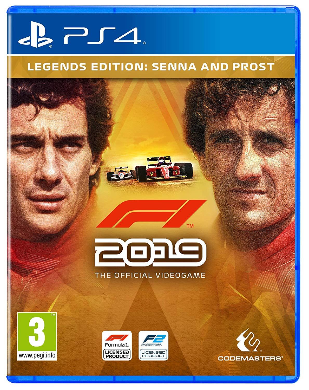 F1 2019: Legends Edition (PS4) für 44,29€ (Amazon UK)