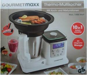 GOURMETmaxx Thermo Multikocher mit Waage für 40 Euro [Rewe Center Bruchsal]