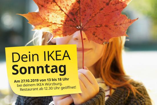 Ikea Würzburg 25€ ab 200€ Einkauf (12,5%) für Ikea Family Mitglieder, nur am 27.10.2019, 13-18 Uhr