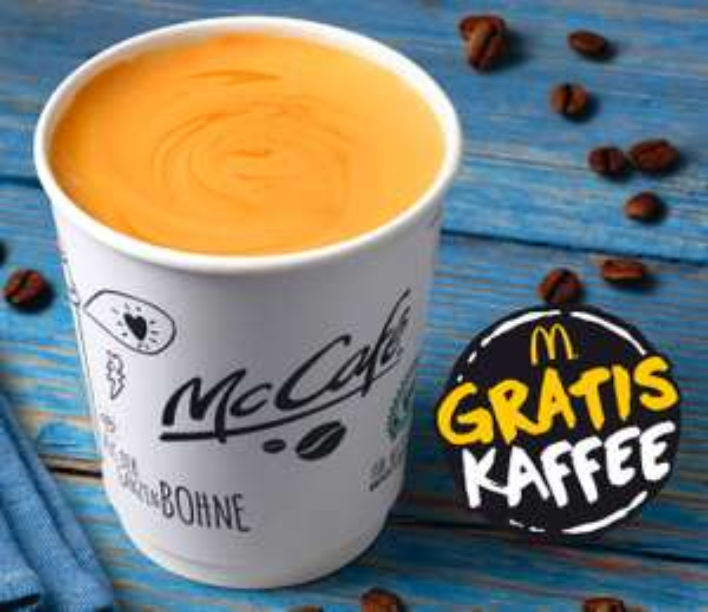 Gratis Kaffee beim McCafé Mobil [lokal Leipzig, Dresden, Chemnitz]