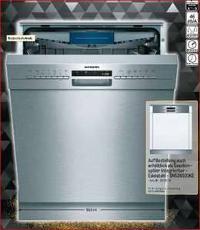Siemens SN436S01KE oder Siemens SN536S01KE  A++ Geschirrspüler für 356,99 Euro [Metro]