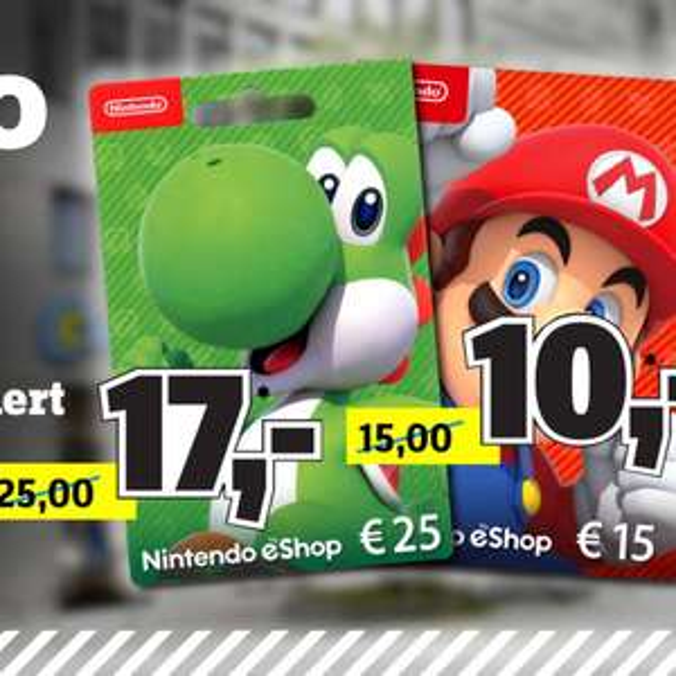 25€ Nintendo eShop-Guthaben für 17€ & 15€ für 10€ [Conrad Stuttgart]
