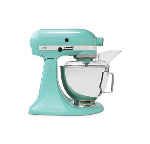 KitchenAid 5KSM45 4,3 Liter Küchenmaschine, Aqua Sky - als [Amazon] Angebot des Tages in 3 Farben reduziert