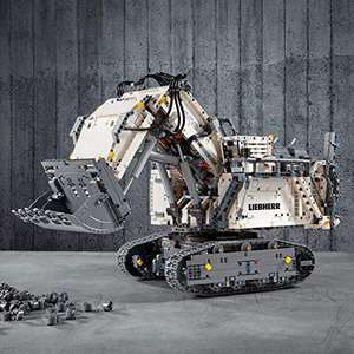LEGO 42100 Liebherr Bagger R 9800 zum neuen Bestpreis bei Amazon.de