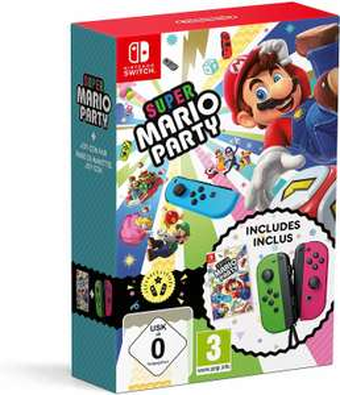 Super Mario Party + Joy-Con 2er Set (Switch) für 91.03€ [86.03€ mit Konditionen] bei (Amazon.fr)