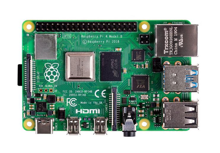 Raspberry Pi 4 B mit 1GB RAM (Rakuten - MasterCARD vorausgesetzt)