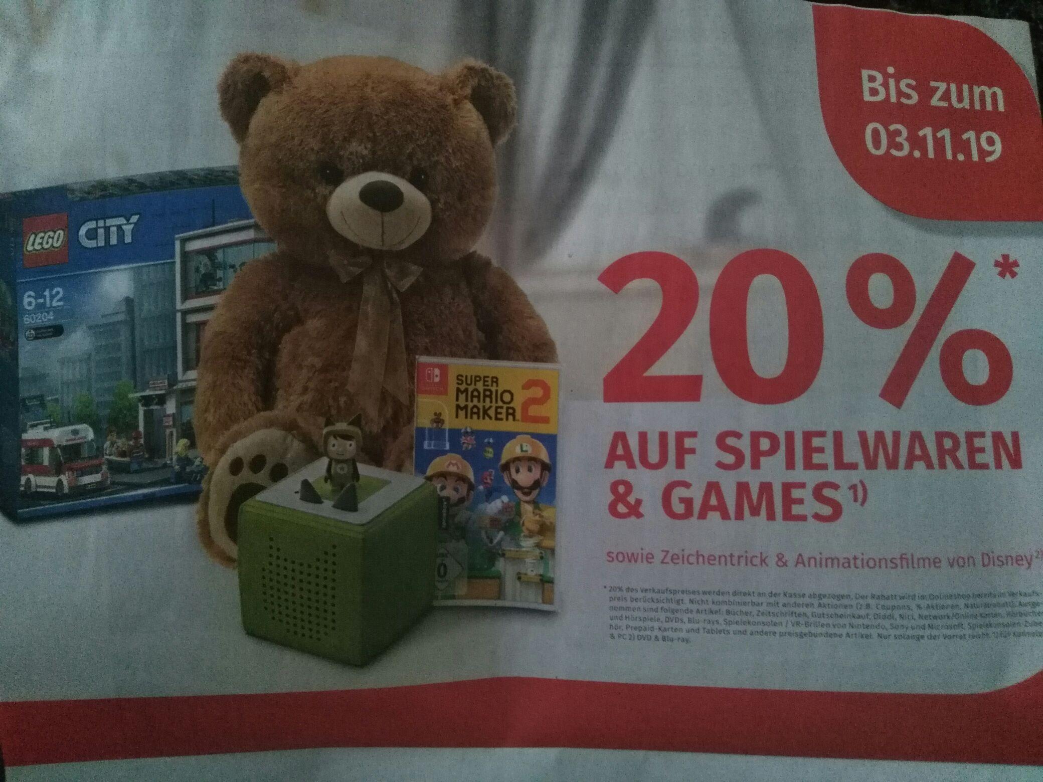 [Lokal] Neueröffnung Müller in Kerpen 20% auf Spielwaren und Games, 10% auf alles.