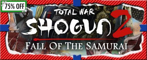 [Steam] Total War Shogun 2 Fall of the Samurai für €7.49 @GetGamesGo