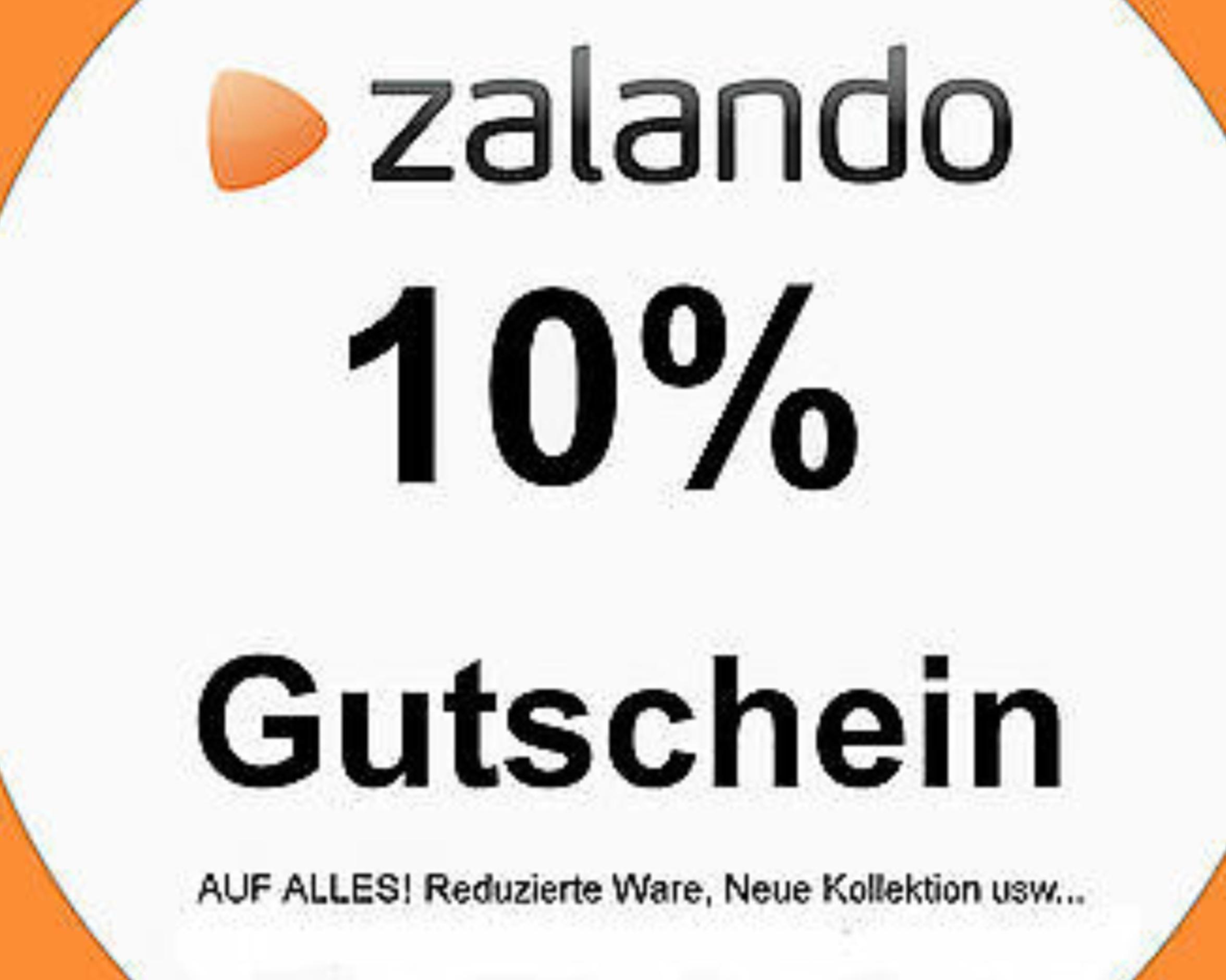 10 % Zalando Gutschein auf alles (30€ MBW)